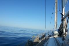 Durch die Strasse von Gibraltar in den Atlantik