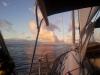 Wir segeln ueber den Atlantik